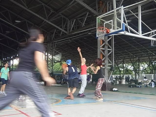 フィリピンアテネオ大バスケコート