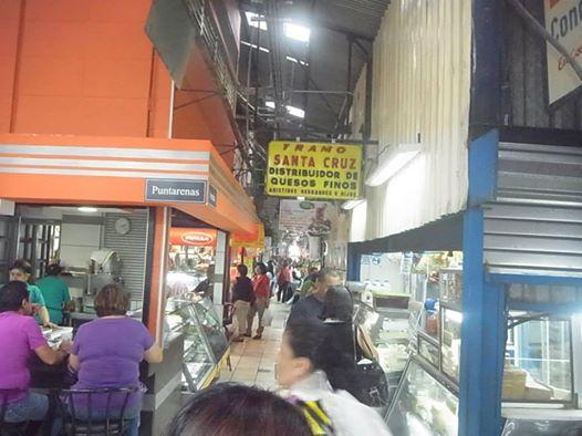 コスタリカサンホセ市場Centro mercado