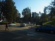 ロサンゼルスの町並み