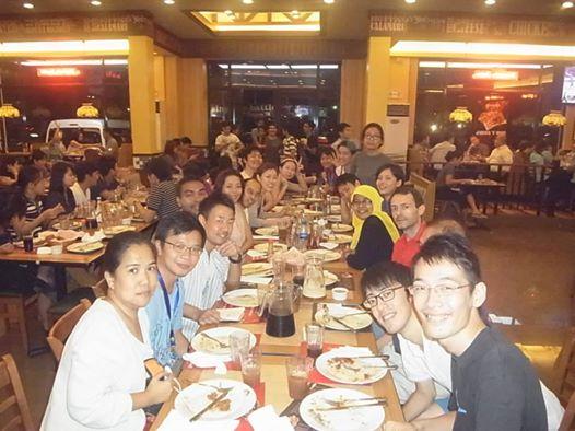 アジアピースビルダーズスカラーシップ マニラ壮行会