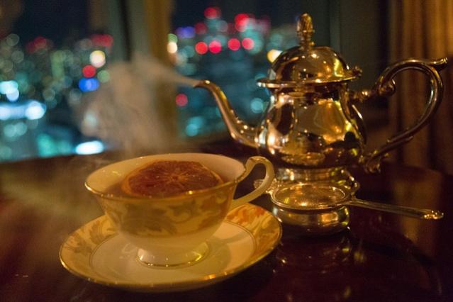 シャングリ・ラ東京 お茶